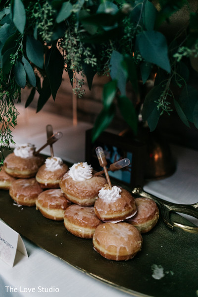 Dessert Table in Toronto, Ontario Indian Wedding by The Love Studio
