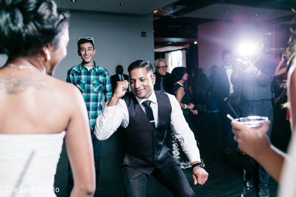 Reception in Toronto, Ontario Indian Wedding by The Love Studio