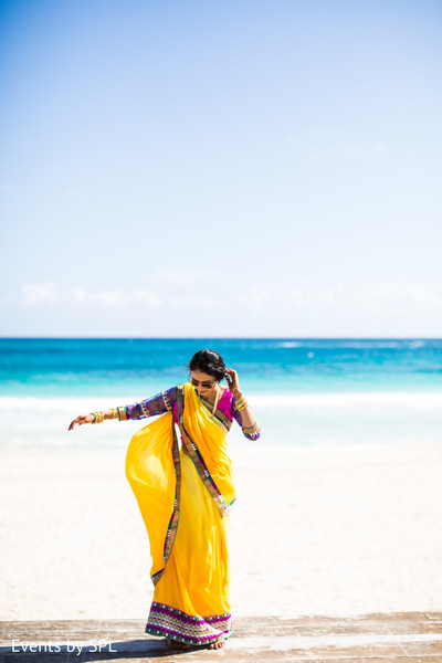 Pre-Wedding Fashion in Punta Cana, Dominican Republic Indian Destination Wedding by Events by SPL