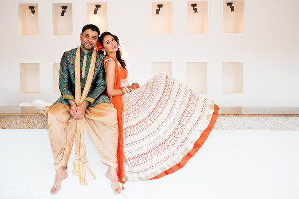 Pre-Wedding Portrait in Punta Cana, Dominican Republic Indian Destination Wedding by Events by SPL