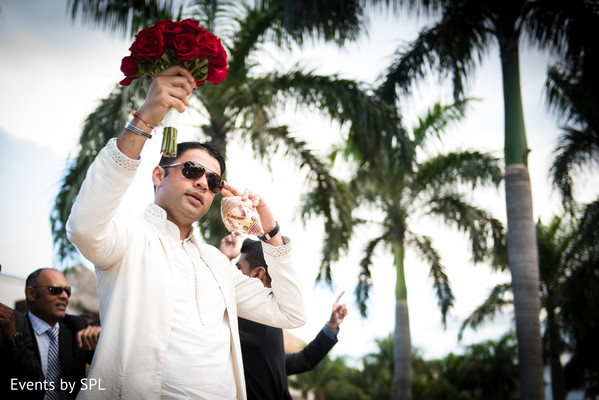 Baraat in Punta Cana, Dominican Republic Indian Destination Wedding by Events by SPL