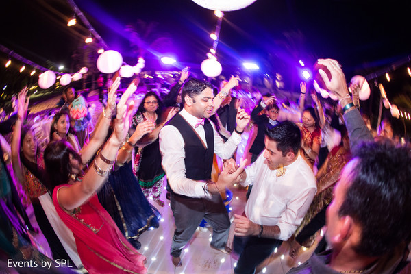 Reception in Punta Cana, Dominican Republic Indian Destination Wedding by Events by SPL
