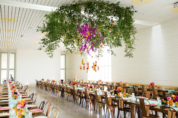 Indian wedding reception venue in Austin, TX Indian Fusion Wedding by Studio Uma