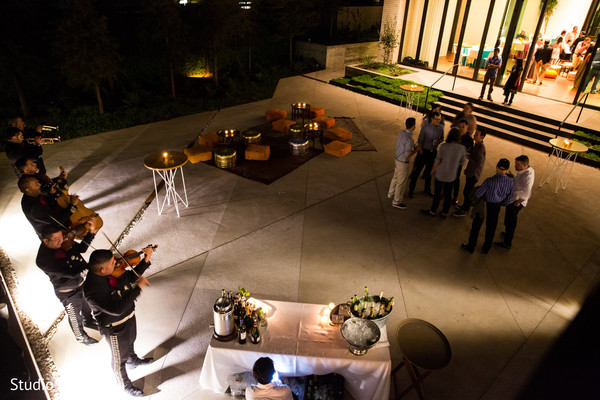 Mehndi party venue in Austin, TX Indian Fusion Wedding by Studio Uma
