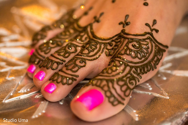 Mehndi art in Austin, TX Indian Fusion Wedding by Studio Uma