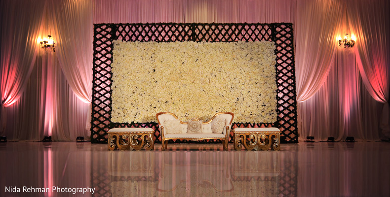 Sweetheart stage in Plano, TX Indian Wedding by Nida Rehman Photography