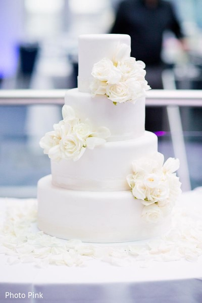 Wedding Cake in New York, NY Indian Fusion Wedding by Photo Pink