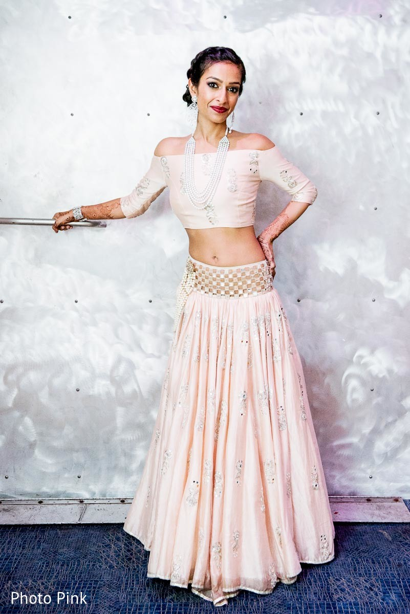 Bridal fashion in new york ny indian fusion wedding by for Indian wedding dresses new york