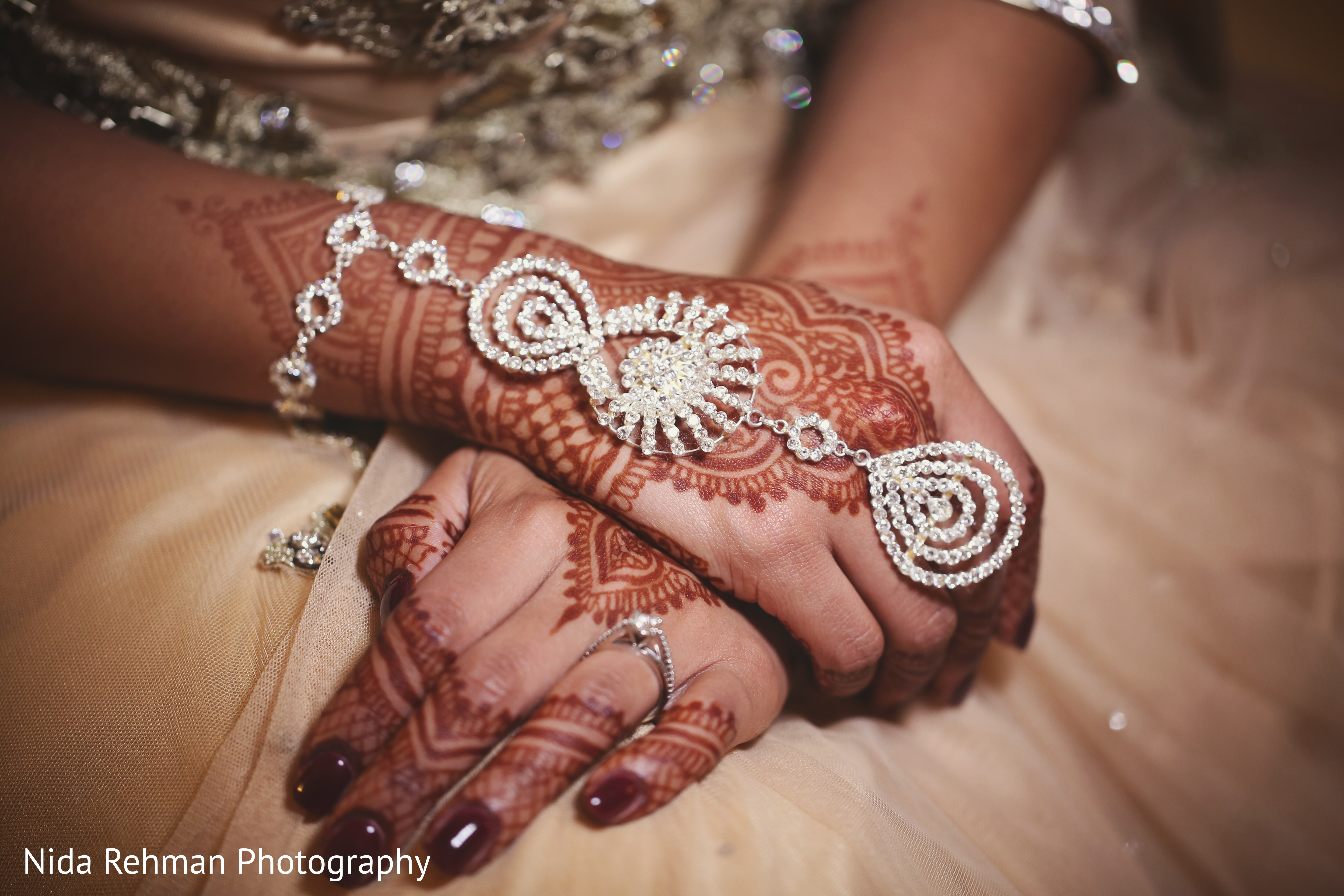 Inspiration Gallery – Indian Weddings Silver indian bridal