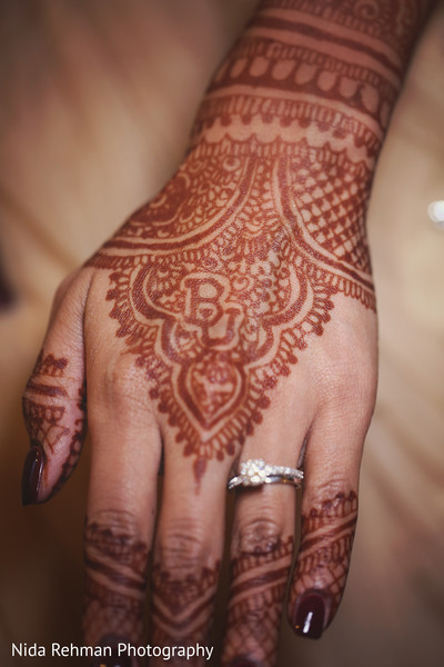 Mehndi hands in Plano, TX Indian Wedding by Nida Rehman Photography