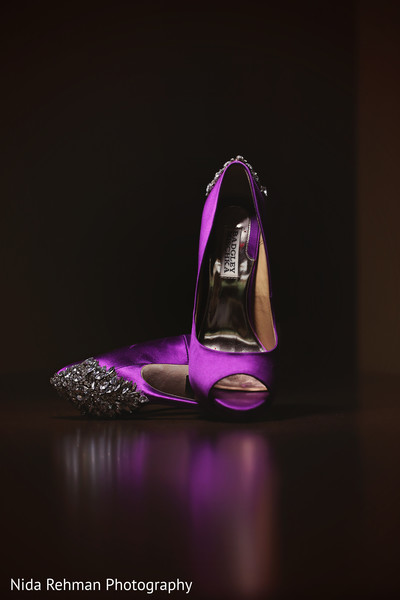 Indian wedding shoes in Plano, TX Indian Wedding by Nida Rehman Photography