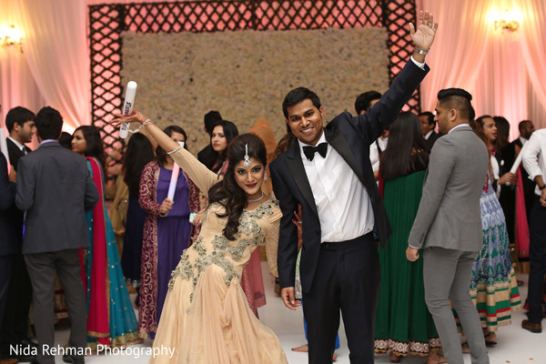 Indian wedding reception photography in Plano, TX Indian Wedding by Nida Rehman Photography