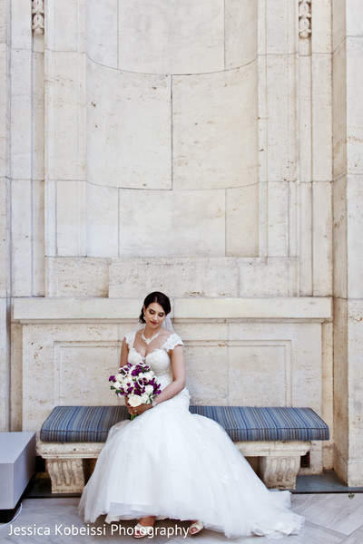 Bridal portrait in Dearborn, MI Pakistani Fusion Wedding by Jessica Kobeissi Photography