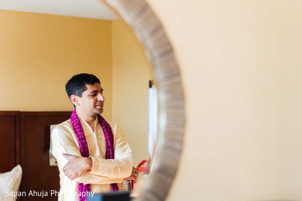 Indian groom fashion in Chicago, IL Indian Wedding by Sapan Ahuja Photography