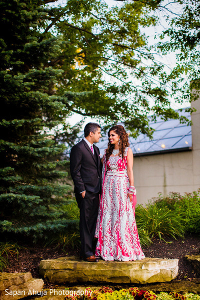 Indian wedding reception photography in Chicago, IL Indian Wedding by Sapan Ahuja Photography