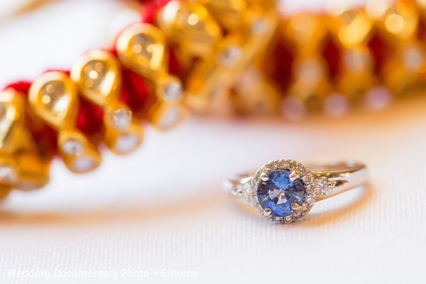 Bridal Jewelry in San Jose, CA Indian Fusion Wedding by Wedding Documentary Photo + Cinema
