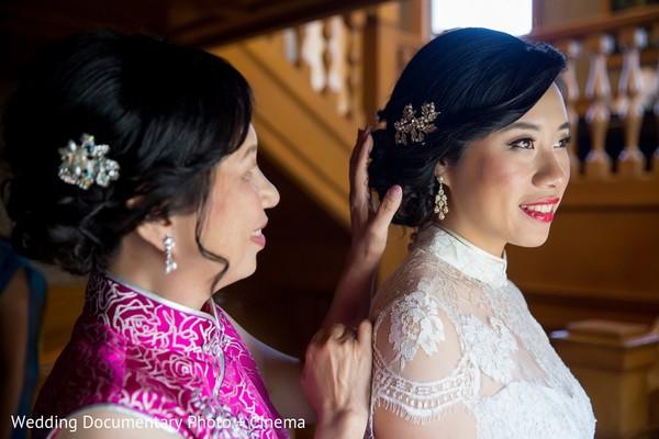 fusion wedding,indian fusion wedding,bride getting ready,indian bride getting ready,getting ready images,getting ready photography,getting ready