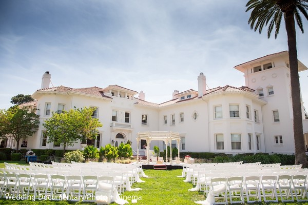 Venue in San Jose, CA Indian Fusion Wedding by Wedding Documentary Photo + Cinema