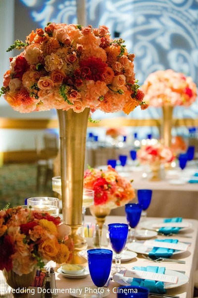 Floral & Decor in San Jose, CA Indian Fusion Wedding by Wedding Documentary Photo + Cinema