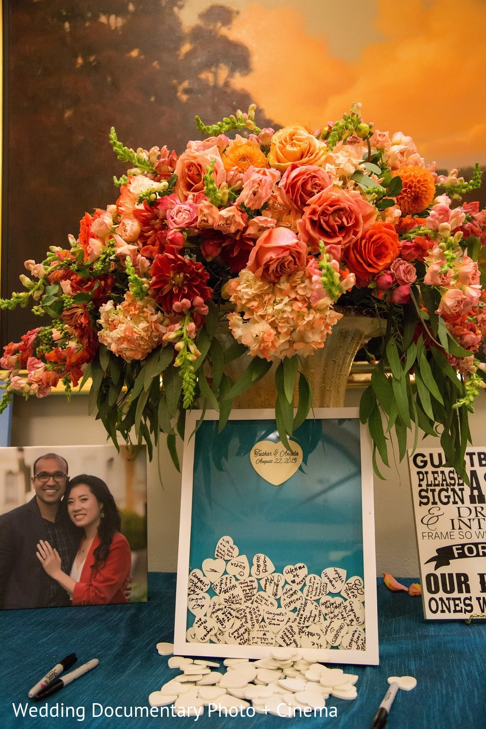Floral decor in san jose ca indian fusion wedding by for Angela florist decoration