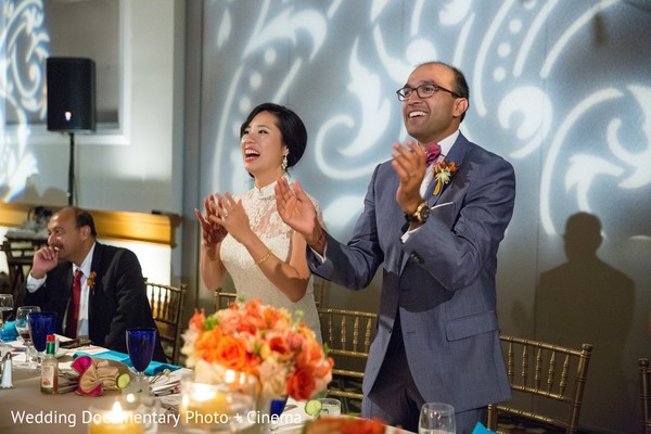 Reception in San Jose, CA Indian Fusion Wedding by Wedding Documentary Photo + Cinema