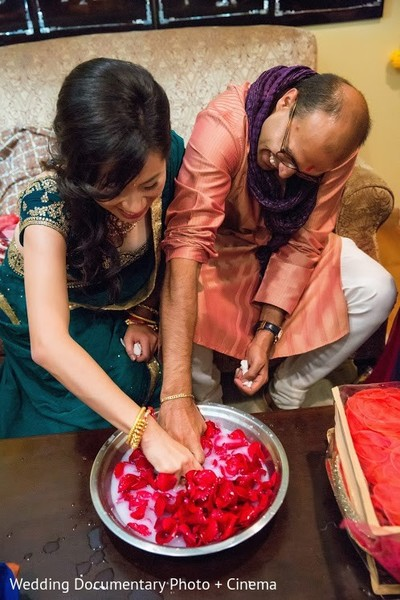 Mehndi Ceremony in San Jose, CA Indian Fusion Wedding by Wedding Documentary Photo + Cinema