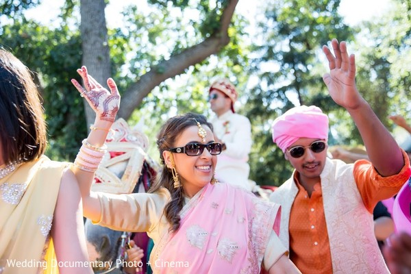 Baraat in San Jose, CA Indian Fusion Wedding by Wedding Documentary Photo + Cinema