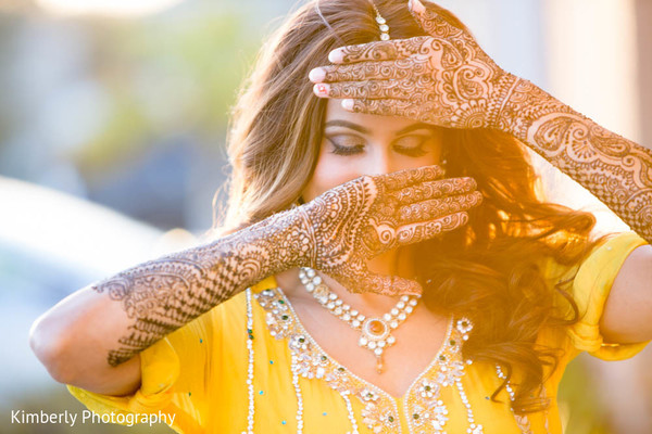 Mehndi hands in St. Petersburg, FL Pakistani Wedding by Kimberly Photography