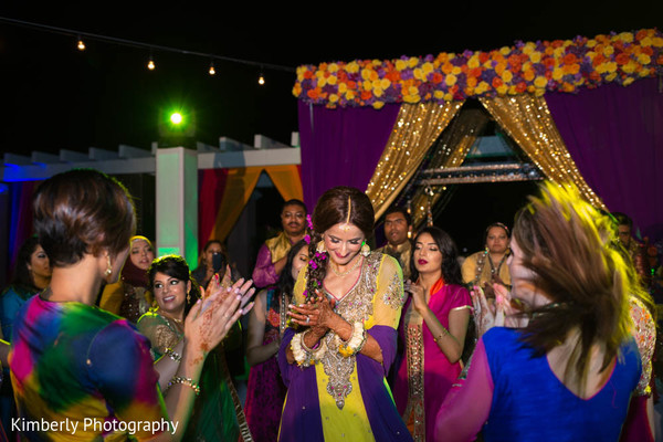 Mehndi night in St. Petersburg, FL Pakistani Wedding by Kimberly Photography