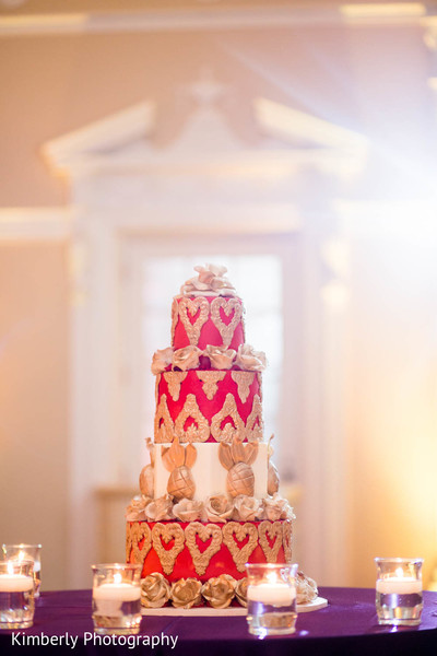 Wedding cake in St. Petersburg, FL Pakistani Wedding by Kimberly Photography