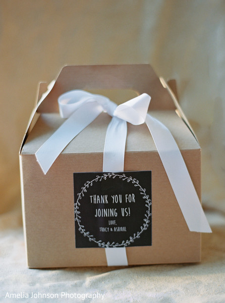 Indian wedding favors in Purcellville, VA Indian Fusion Wedding by Amelia Johnson Photography