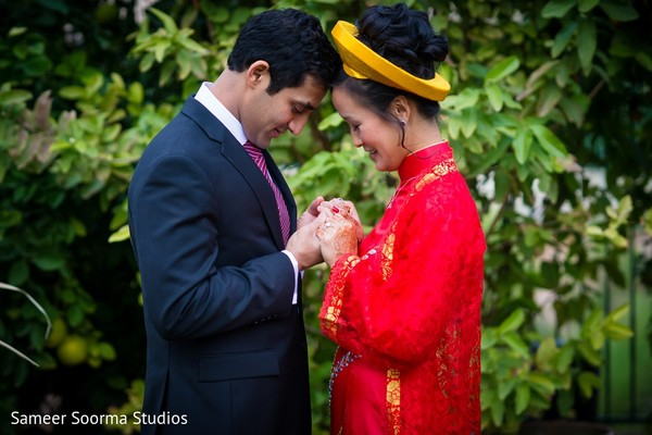 Vietnamese Ceremony in Phoenix, AZ Indian Fusion Wedding by Sameer Soorma Studios