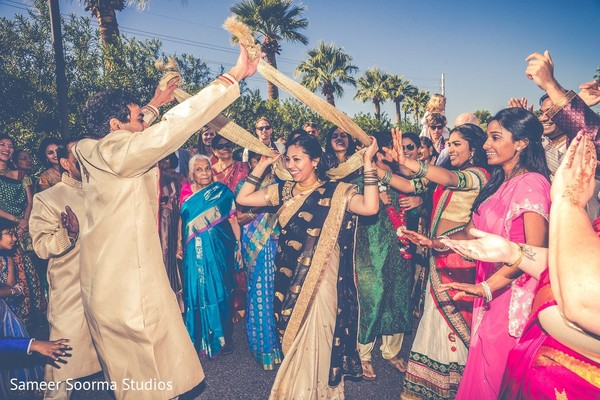 Baraat in Phoenix, AZ Indian Fusion Wedding by Sameer Soorma Studios