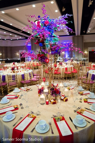 Floral & Decor in Phoenix, AZ Indian Fusion Wedding by Sameer Soorma Studios