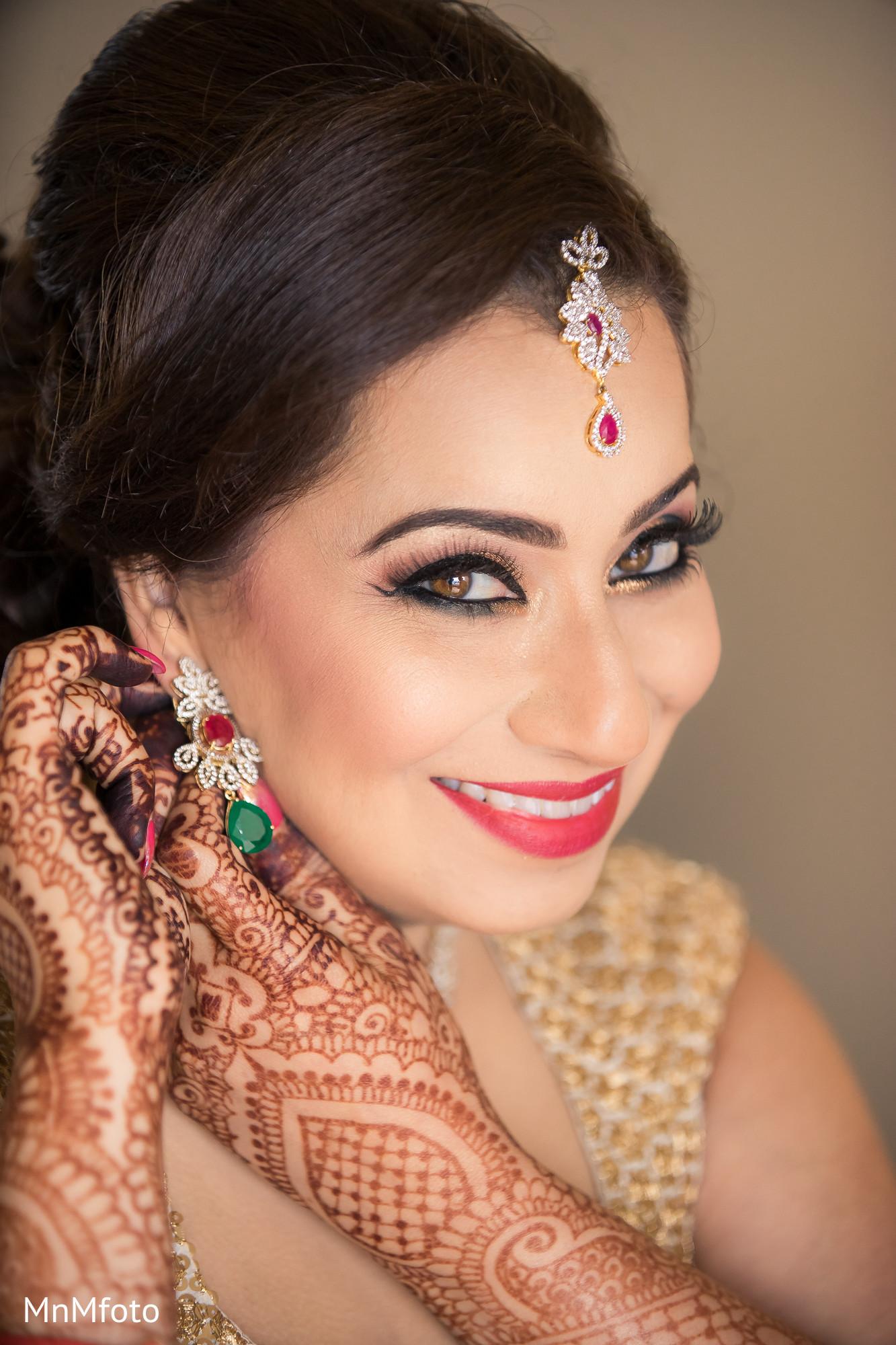 indian bridal makeup in maui, hi destination indian wedding by