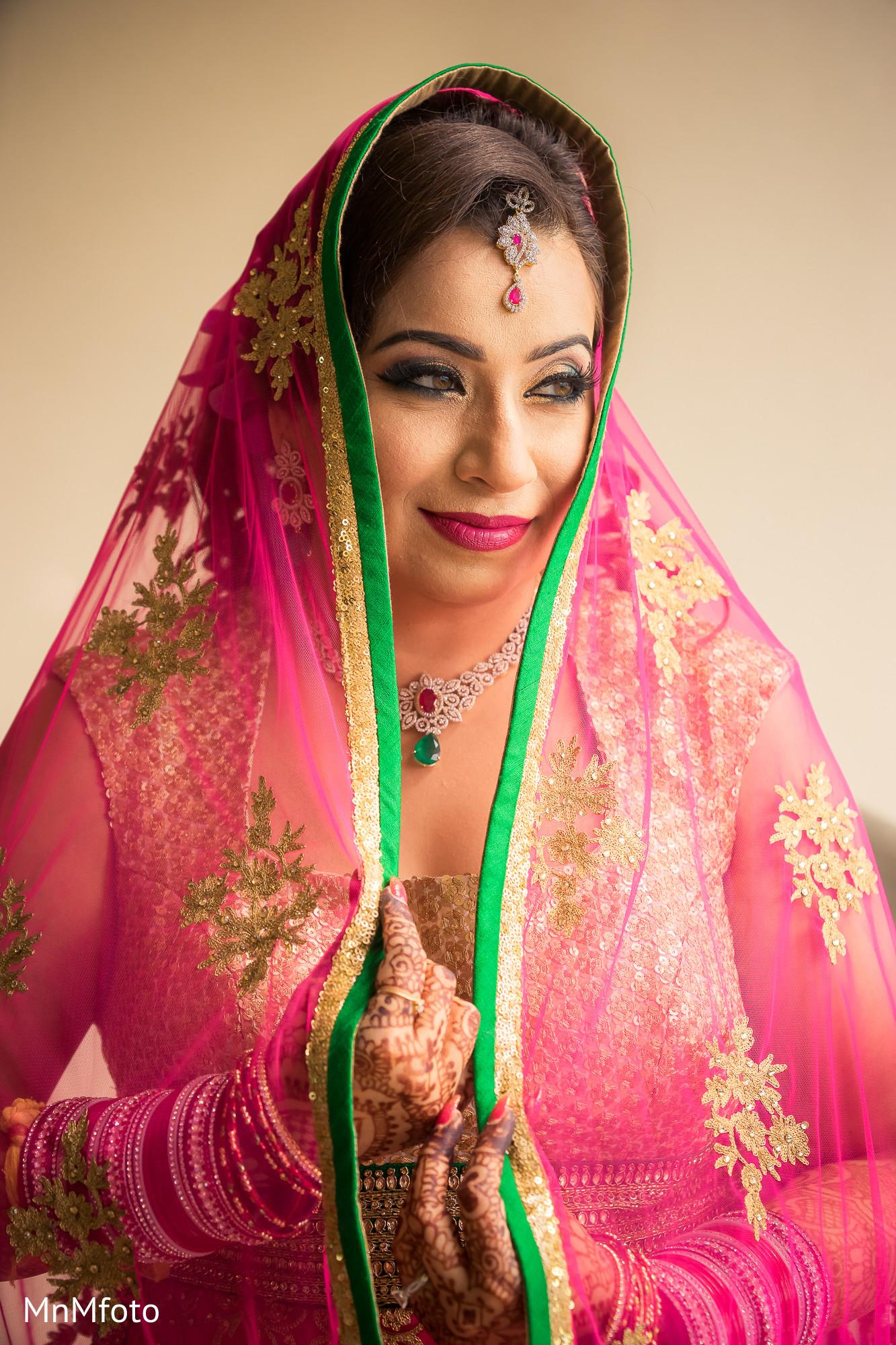 Indian bridal makeup | Photo 68397