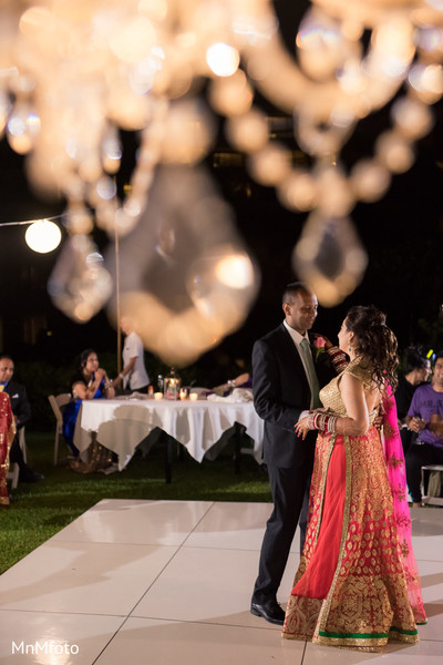 First dance in Maui, HI Destination Indian Wedding by MnMfoto Wedding Photography