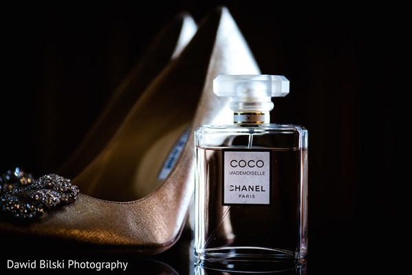Indian bridal shoes in San Jose, CA Muslim Wedding by Dawid Bilski Photography