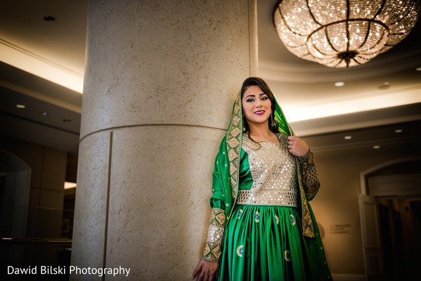 Indian bridal portrait in San Jose, CA Muslim Wedding by Dawid Bilski Photography