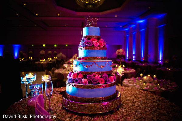 Indian wedding cake in San Jose, CA Muslim Wedding by Dawid Bilski Photography