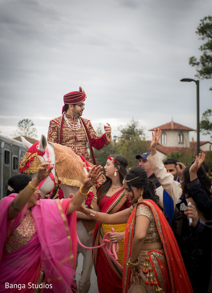Baraat in Orlando, FL South Asian Wedding by Banga Studios