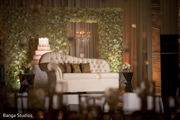 Sweetheart stage in Orlando, FL South Asian Wedding by Banga Studios