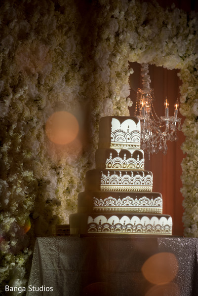Indian wedding cake in Orlando, FL South Asian Wedding by Banga Studios