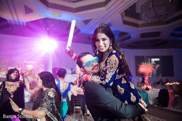 Indian wedding reception in Orlando, FL South Asian Wedding by Banga Studios