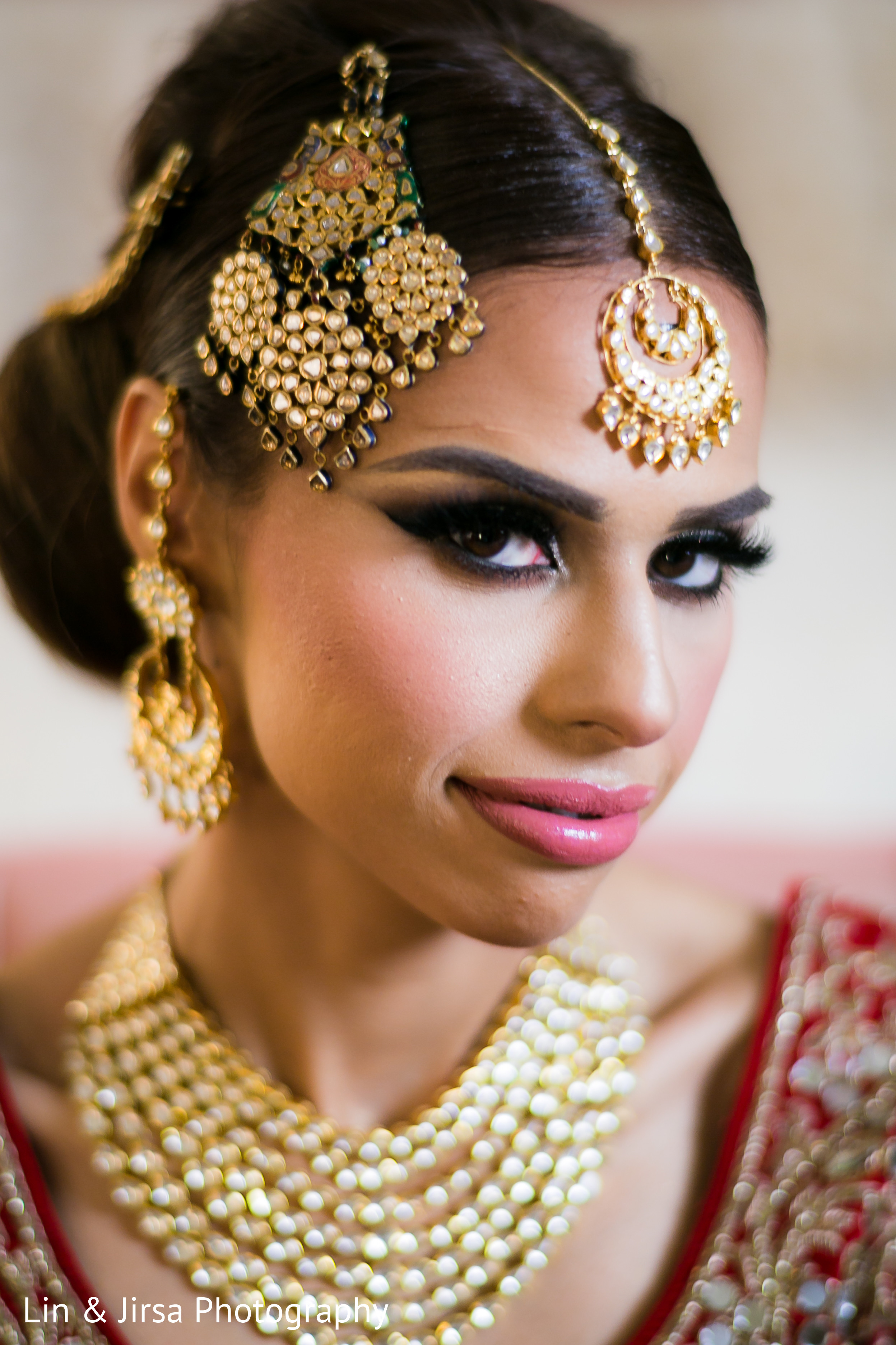 Inspiration Photo Gallery – Indian Weddings: Indian bridal jhoomar ...