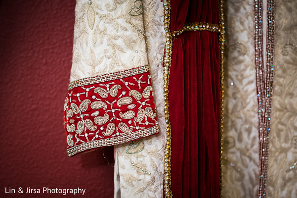 Groom fashion in Glendale, CA Sikh Wedding by Lin & Jirsa Photography