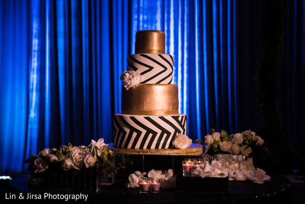 Indian wedding cake in Glendale, CA Sikh Wedding by Lin & Jirsa Photography