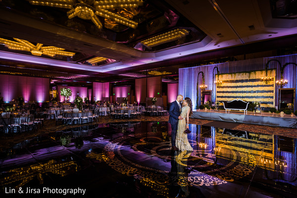 Reception portraits in Glendale, CA Sikh Wedding by Lin & Jirsa Photography
