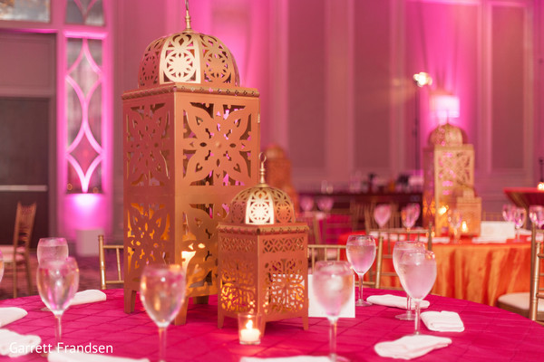 Sangeet Decor in Atlanta, GA Indian Wedding by Garrett Frandsen