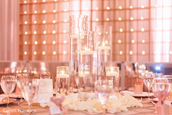 Lighting in Atlanta, GA Indian Wedding by Garrett Frandsen